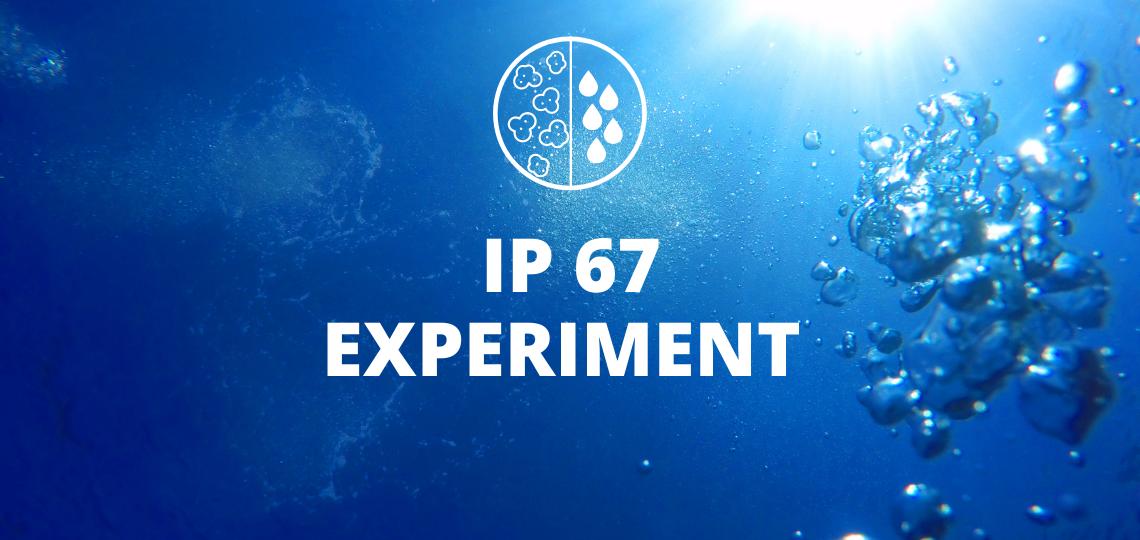 IP 67 waterproof test