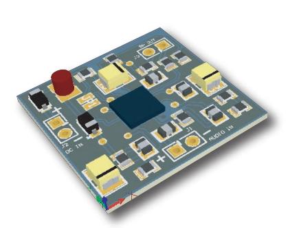 Sonitron Amplifier PAA-LM4960SQ-02